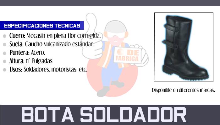 12 BOTA SOLDADOR