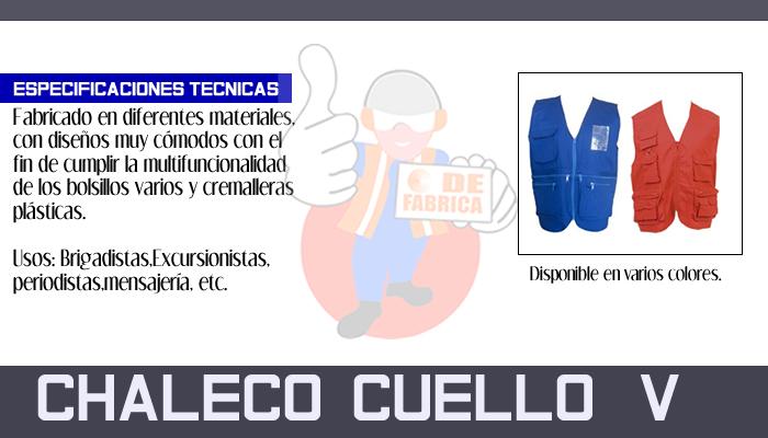 70 CHALECO  CUELLO   V