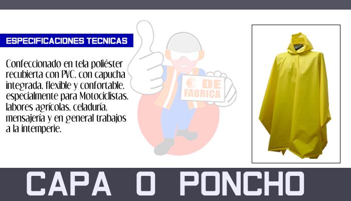 75 CAPA   O   PONCHOCAPA   O   PONCHO