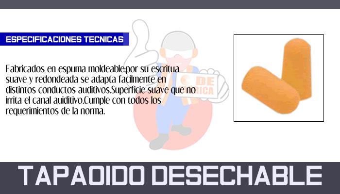 24 TAPA OIDO DESECHABLE
