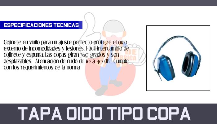 26 TAPA OIDO TIPO COPA