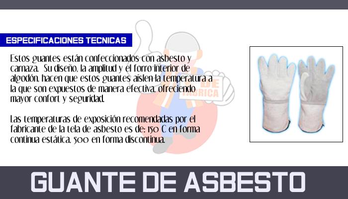 29 GUANTE DE ASBESTO