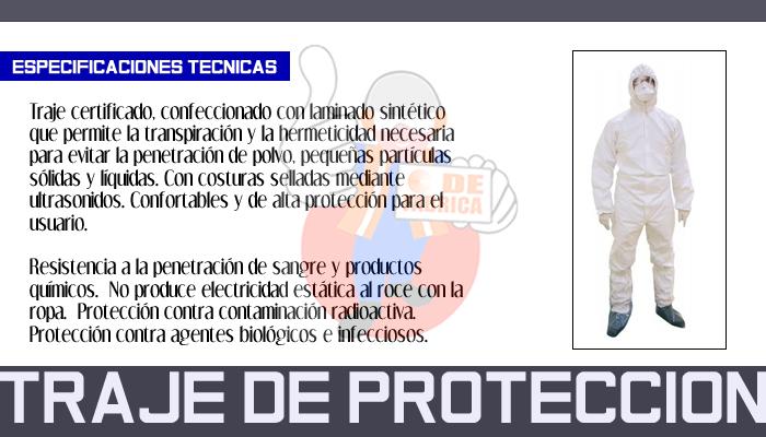 86 TRAJE DE PROTECCION